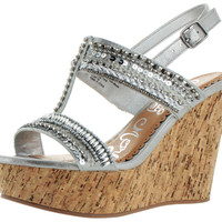 Naughty Monkey Azteca Women's Casual Wedge Sandals Shoes Order 1/2 to Size Up