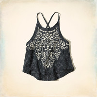 Bluffs Beach Embroidered Top