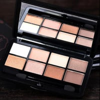 2016 New Arrival 8 Color Matte Eyeshadow Palette Naked Smoky Eye Shadow  Urban Makeup Palette Cosmetics Professional Make Up
