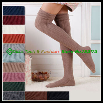 Over Knee Thick Stockings Leggings Thigh High stockings