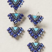 Cobalt Triangle Drops by Baublebar Blue One Size Earrings