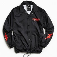 The Weeknd Starboy Graphic Coach Jacket - Urban Outfitters