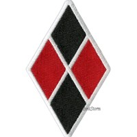 Licensed cool SUICIDE SQUAD DC  HARLEY QUINN DIAMOND Embroidered IRON ON Patch Badge