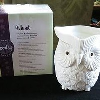 """Scentsy Warmer """"Whoot"""" Premium Full Size for Melting Wax"""