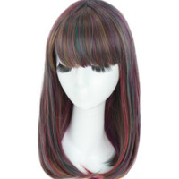 anime cosplay wig halloween wig masquerade party wig long wig for women