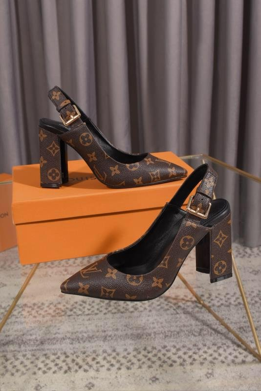 Image of Louis Vuitton LV Women's  Sneakers Slipper Sandals High Heels Shoes 0411