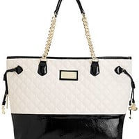 Betsey Johnson Chain Tote
