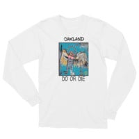 'Basquiat Oakland' Long Sleeve T-Shirt