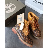 Louis Vuitton Lv X Timberland Waterproof Boots - Best Deal Online