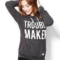"""""""Trouble Maker"""" Lazy Hoodie - Graphic Tees - Garage"""