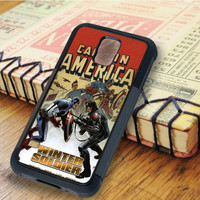 Captain America Winter Soldier Comic Superheroes   For Samsung Galaxy S6 Cases   Free Shipping   AH1217