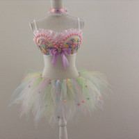 Sweetheart Candy Outfit with Choker in Your Size