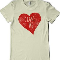 Natural T-Shirt | Funny Valentine's Heart Shirts