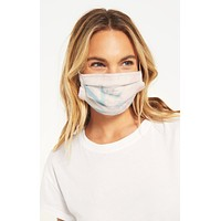 Z Supply Face Mask (2 pack) - Tie Dye + Heather Grey