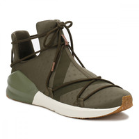 PUMA Womens Olive Night Fierce Rope Trainers