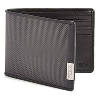 Men's Tumi 'Alpha' Nylon & Leather Wallet - Grey (Nordstrom Exclusive)