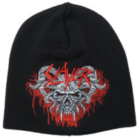SLAYER Demonic Goat Winter Ski Embroidered Beanie Hat BNWT