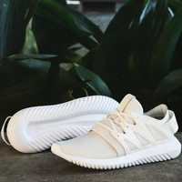 ADIDAS Fashion Sneakers Sport Shoes Tubular Viral Sneakers White