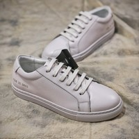 Australia Ugg Ever 1528 White Leather Casual Shoes - Best Online Sale