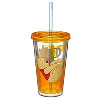 Winnie the Pooh Tumbler with Straw | Disney Store