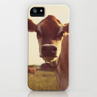 cow iPhone Case by Beverly LeFevre | Society6