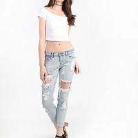 Cool Calm Collected Cut Jeans