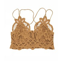 Adella Bralette - Gold (MEDIUM LEFT!)