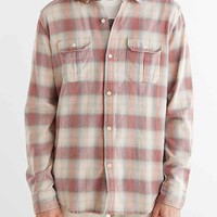 Salt Valley Flannel Button-Down Shirt- Red