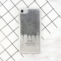 Fashion Glitter Bling Stars Case For Apple iPhone 7 Flash Powder Soft Phone Cases Back Cover Capa For iPhone7 6 6s Plus-0325