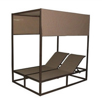 Panama Jack Island Breeze Canopy Daybed with Removable Top