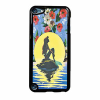 Disney Princess Ariel The Little Mermaid Floral Vintage iPod Touch 5th Generation Case