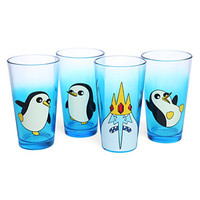 Adventure Time Ice King and Gunter Pint Glass Set