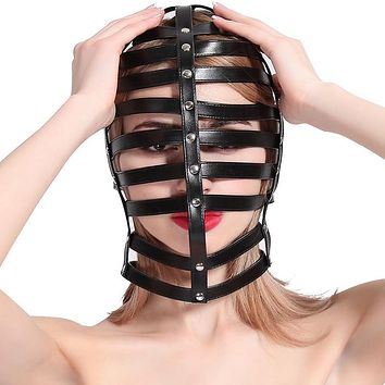 Leather Adjustable Cages and Body Harnesses (21 Options)