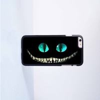 Cheshire Cat Alice In Wonderland Plastic Case Cover for Apple iPhone 6 Plus 4 4s 5 5s 5c 6