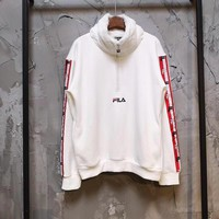 Wholsale FILA hoodie sweater coat L120752458