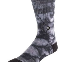 Stance Socks Burnout in Black and Grey