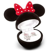 Minnie Mouse Ring and Necklace Set   Disney Store