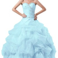 Emma Y Gorgeous Sweetheart Ball Gown Quinceanera Women Pick-up Dresses Long