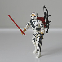 GI Joe Action Figure, Storm Shadow, 1988 Hasbro - Cobra, ninja, warrior, 80s toy, collectible, for him, kids toy, red