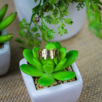 Elephant Ring in Gold