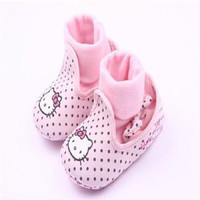 Tiny Baby Shoes | Hello Kitty Pinka Dots