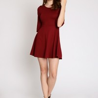 Homecoming Fit And Flare Dress