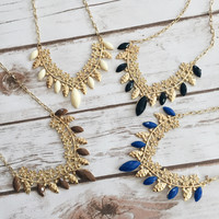 Nollie Floral Necklace
