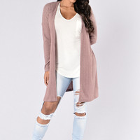 Move With Me Duster - Mauve