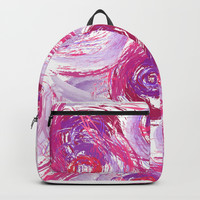 Sophia Pink Backpacks by ALLY COXON