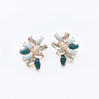 Lily Pastel Statement Earrings