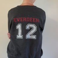 Katniss Everdeen Jersey Sweatshirt