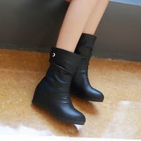 Wedges Boots Women Shoes Fall|Winter 3249