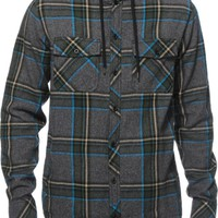 Empyre Willow Hooded Flannel Shirt