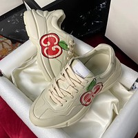 GUCCI Star print couple daddy shoes-1